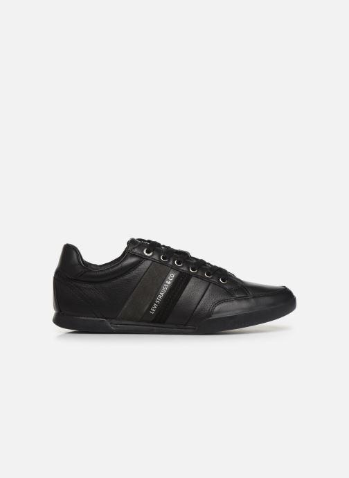 Sneakers Levi's TURLOCK 2 Zwart achterkant