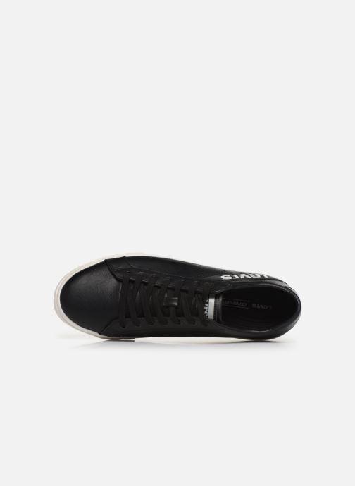 Sneaker Levi's WOODWARD L schwarz ansicht von links