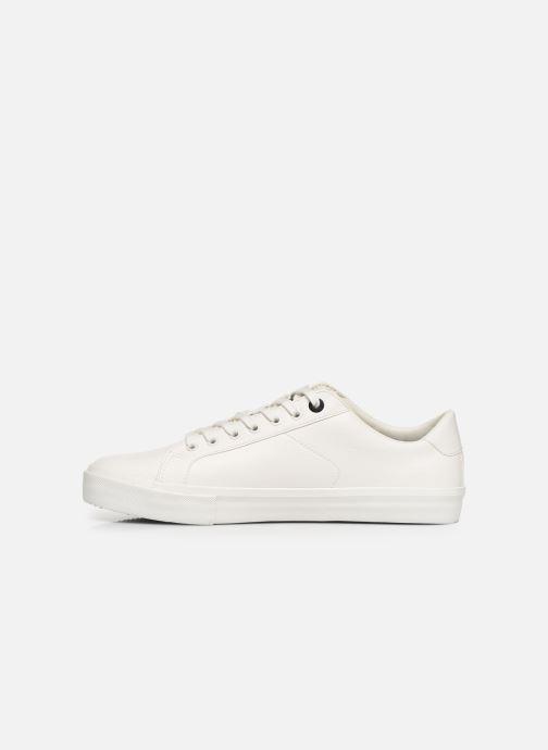 Sneakers Levi's WOODWARD L Hvid se forfra