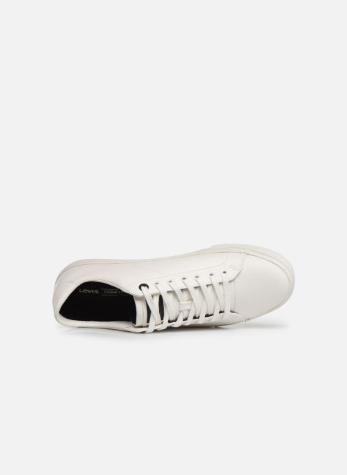 Sneakers Levi's WOODWARD L Hvid se fra venstre