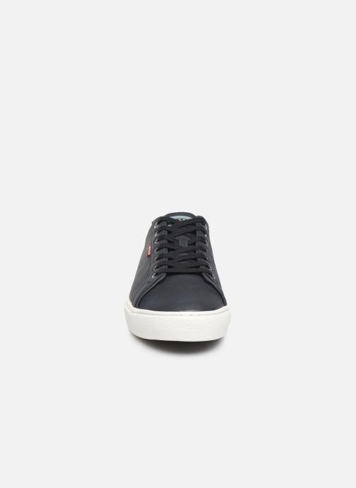Baskets Levi's WOODWARD SPORTSWEAR Bleu vue portées chaussures