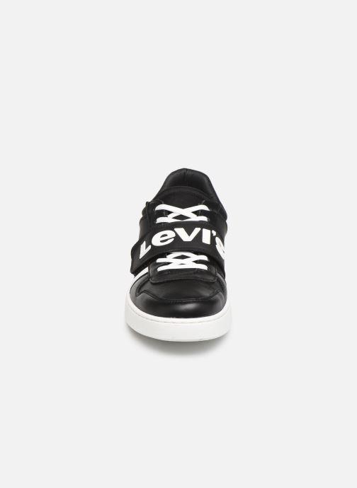 Sneaker Levi's MULLET V schwarz schuhe getragen