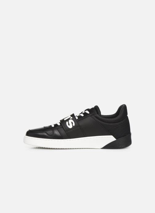 Sneaker Levi's MULLET V schwarz ansicht von vorne