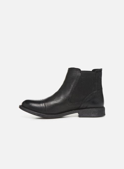 Bottines et boots Levi's MAINE W CHELSEA Noir vue face