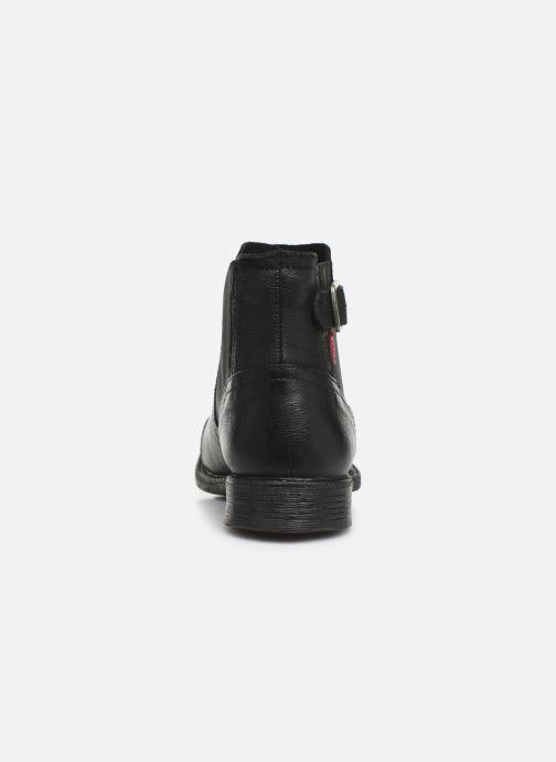Bottines et boots Levi's MAINE W CHELSEA Noir vue droite