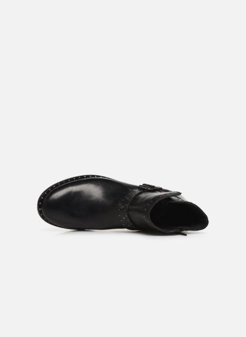 Stiefeletten & Boots Levi's TENEXY schwarz ansicht von links