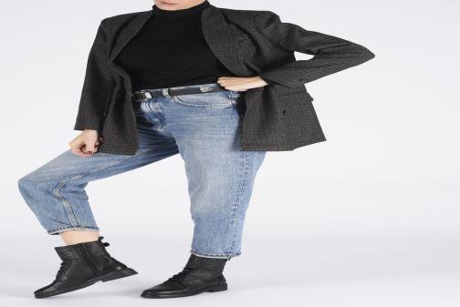 Bottines et boots Levi's SLY STUDS Noir vue bas / vue portée sac