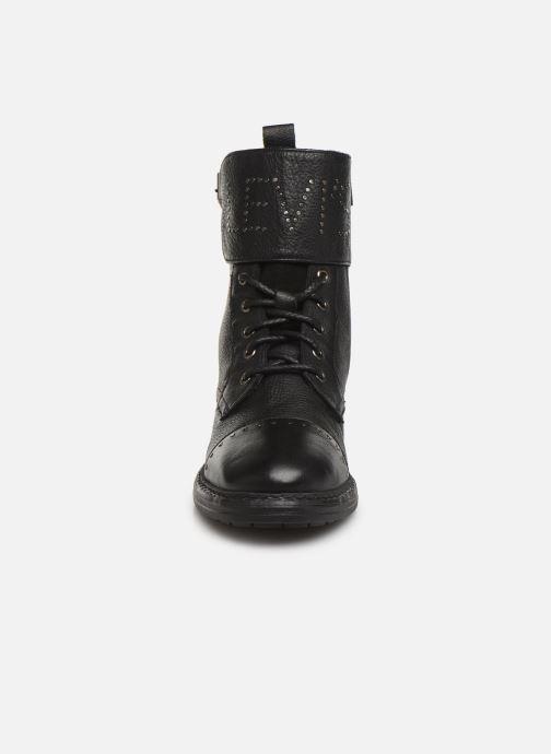Bottines et boots Levi's SLY STUDS Noir vue portées chaussures