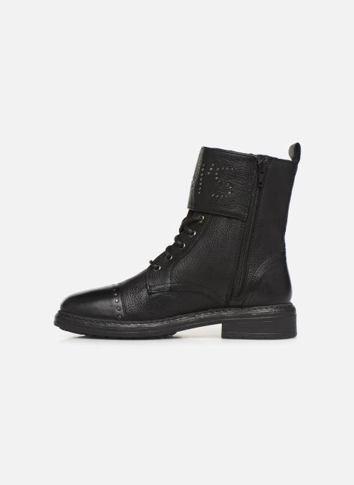 Bottines et boots Levi's SLY STUDS Noir vue face