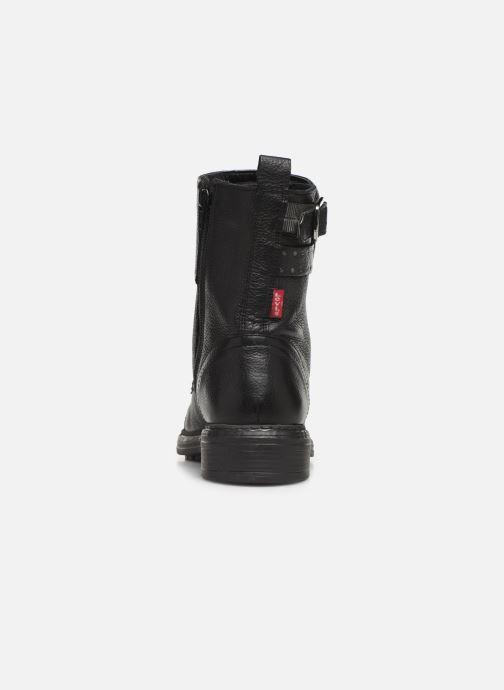 Bottines et boots Levi's SLY STUDS Noir vue droite