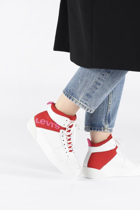 Sneakers Levi's MULLET BSK S Bianco immagine dal basso