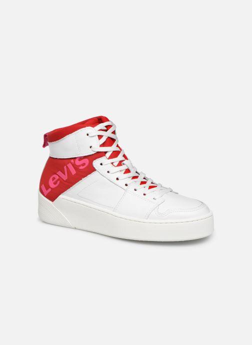Baskets Levi's MULLET BSK S Blanc vue détail/paire
