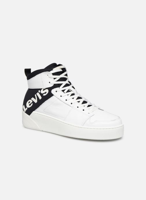 Trainers Levi's MULLET BSK S White detailed view/ Pair view