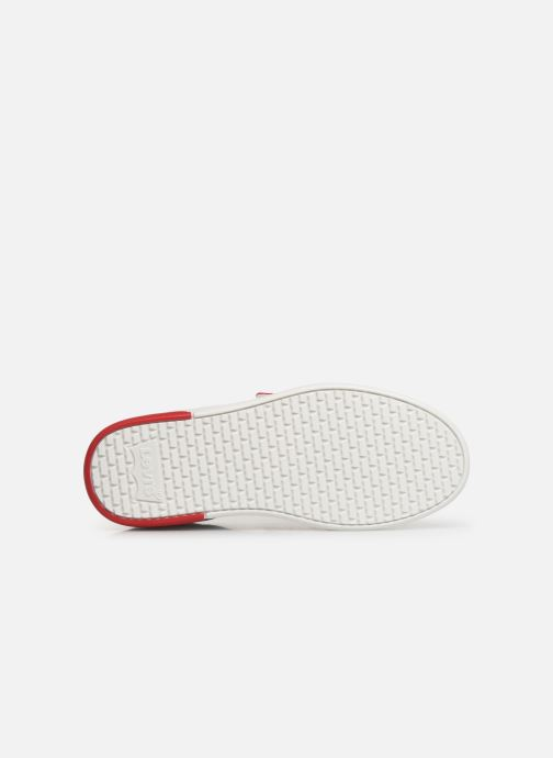 Baskets Levi's MULLET V S Blanc vue haut