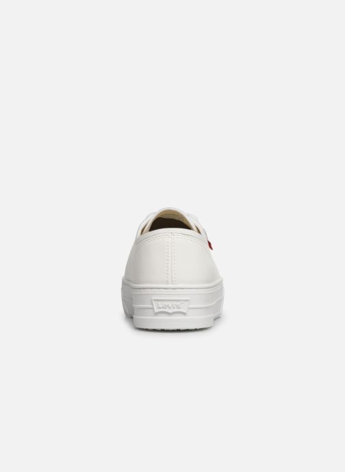 Trainers Levi's TIJUANA White view from the right