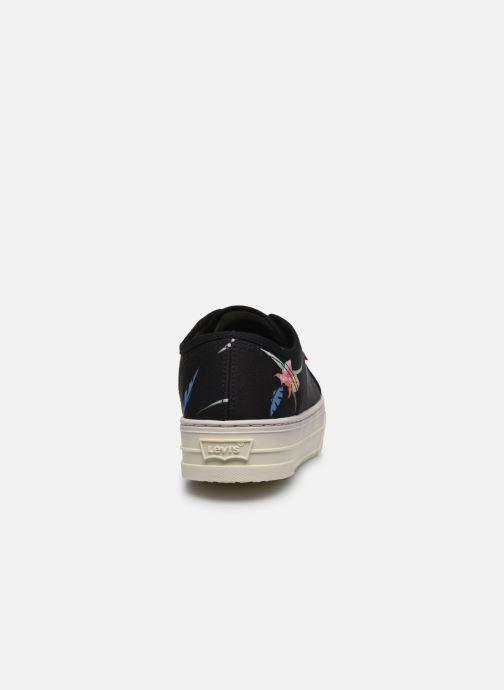 Baskets Levi's TIJUANA Noir vue droite