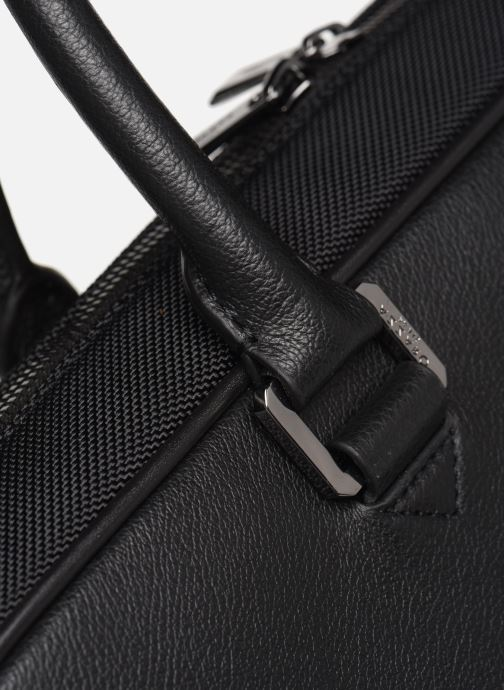 Laptop cases Azzaro GAMBLE PORTE-DOCUMENTS Black view from the left