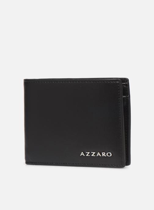 Kleine lederwaren Azzaro LIVE PORTEFEUILLE ITALIEN Zwart model