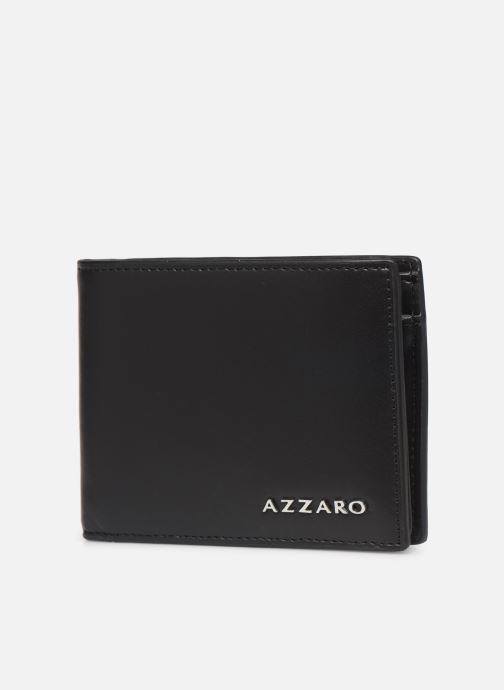 Wallets & cases Azzaro LIVE PORTEFEUILLE ITALIEN Black model view