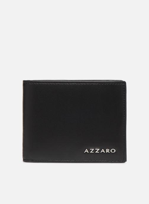 Kleine lederwaren Azzaro LIVE PORTEFEUILLE ITALIEN Zwart detail
