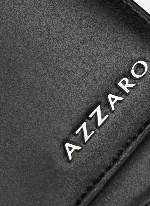Marroquinería pequeña Azzaro LIVE PORTEFEUILLE ITALIEN Negro vista lateral izquierda