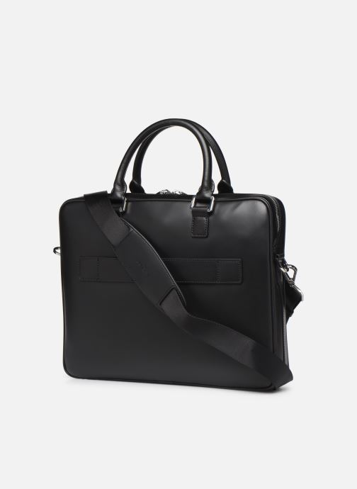 Laptop cases Azzaro LIVE PORTE ORDINATEUR Black view from the right