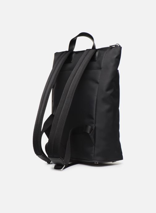 Rucksacks Azzaro CHRONOS SAC A DOS Black view from the right