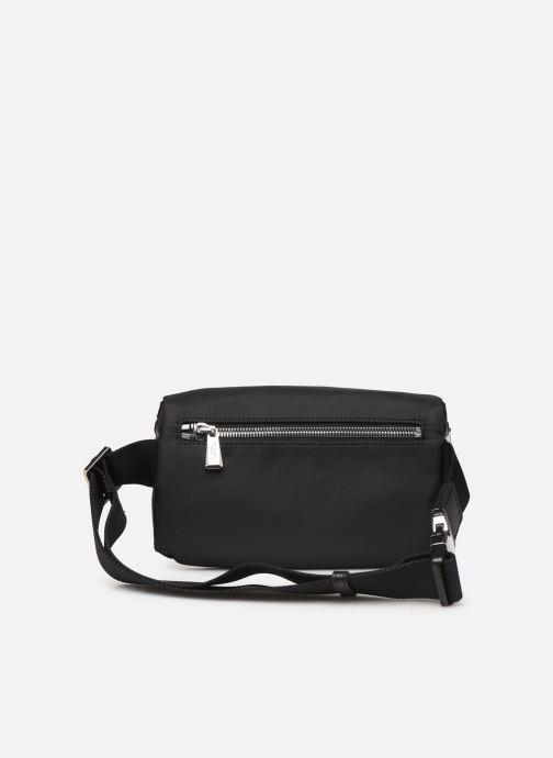 Portemonnaies & Clutches Azzaro CHRONOS BANANE schwarz ansicht von vorne
