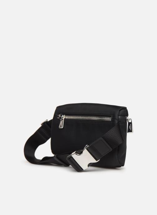 Portemonnaies & Clutches Azzaro CHRONOS BANANE schwarz ansicht von rechts