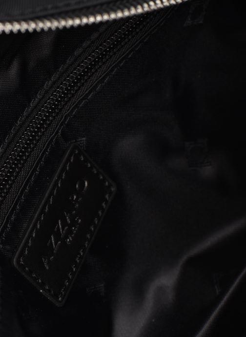 Kleine lederwaren Azzaro CHRONOS BANANE Zwart achterkant