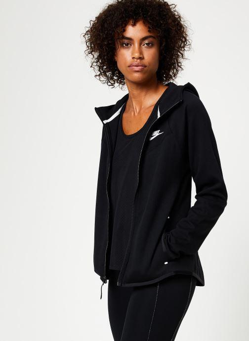Vêtements Nike Veste Femme Nike Sportswear Tech Fleece Noir vue droite