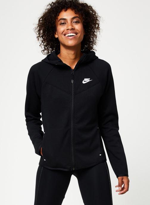 Vêtements Nike Veste Femme Nike Sportswear Tech Fleece Noir vue détail/paire