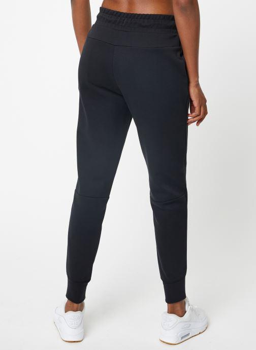 Vêtements Nike Pantalon Femme Nike Sportswear tech Fleece Noir vue portées chaussures