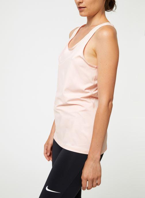 Vêtements Nike Débardeur Femme Nike Victory Rose vue droite