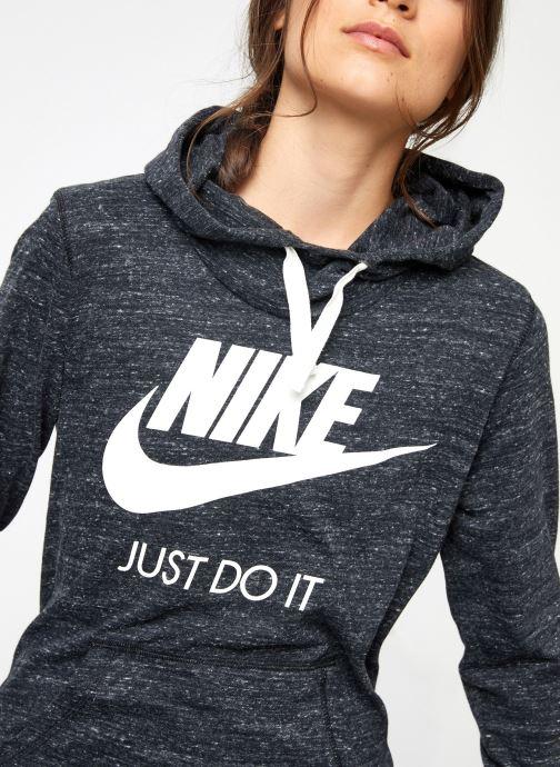 Vêtements Nike Sweat Femme Nike Sportswear Gym Vintage Noir vue face