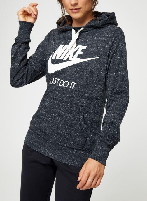 Vêtements Nike Sweat Femme Nike Sportswear Gym Vintage Noir vue droite