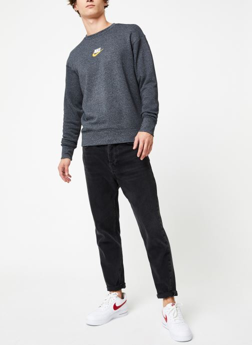 Vêtements Nike Sweat Homme Nike Sportswear Heritage Gris vue bas / vue portée sac