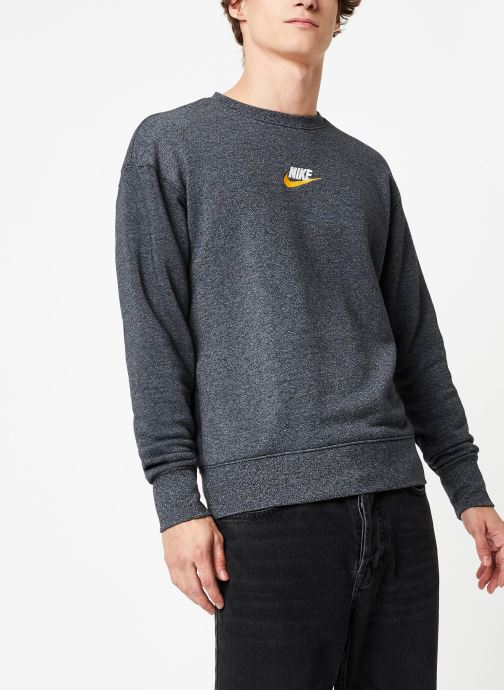 Vêtements Nike Sweat Homme Nike Sportswear Heritage Gris vue droite