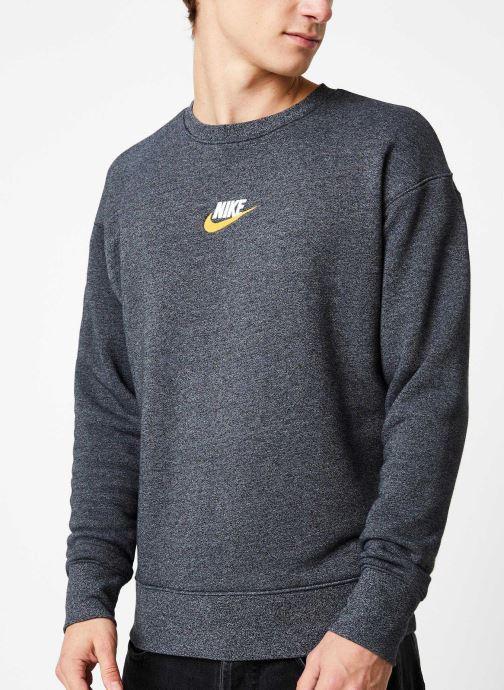 Vêtements Nike Sweat Homme Nike Sportswear Heritage Gris vue détail/paire