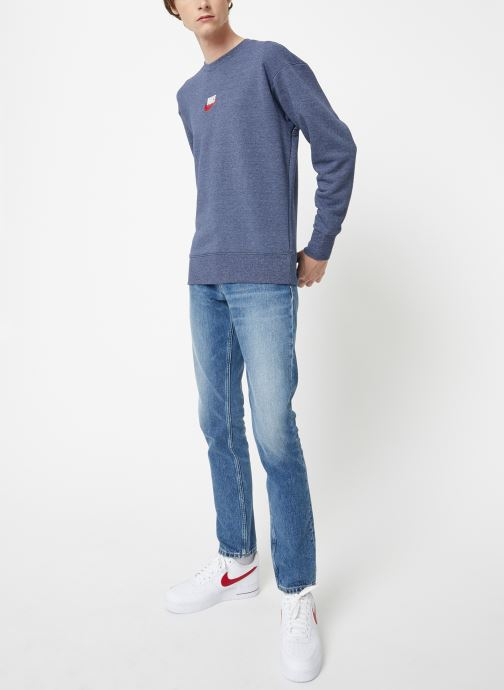 Vêtements Nike Sweat Homme Nike Sportswear Heritage Bleu vue bas / vue portée sac