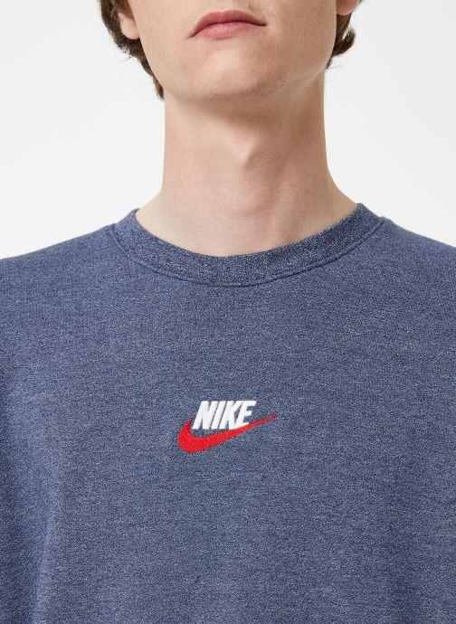 Vêtements Nike Sweat Homme Nike Sportswear Heritage Bleu vue face