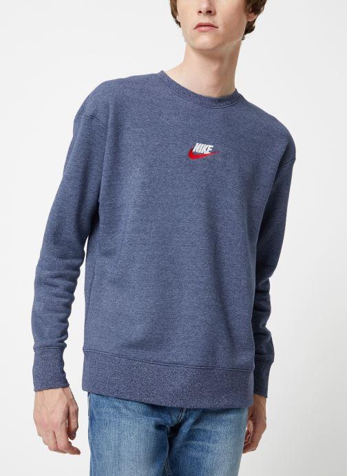 Vêtements Nike Sweat Homme Nike Sportswear Heritage Bleu vue détail/paire