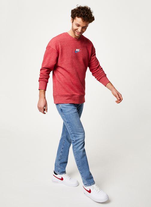 Vêtements Nike Sweat Homme Nike Sportswear Heritage Bordeaux vue bas / vue portée sac