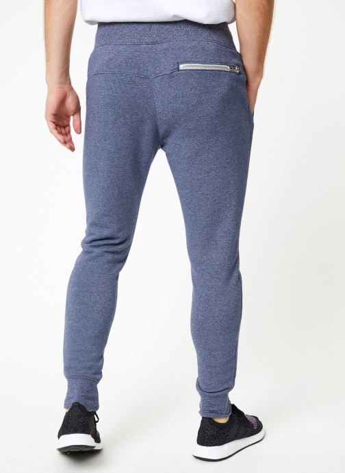 Vêtements Nike Pantalon Homme Nike Sportswear Heritage Bleu vue portées chaussures