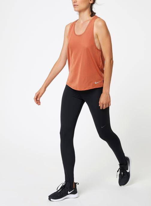 Kleding Nike Débardeur de running Femme Nike Dry Miler Roze onder