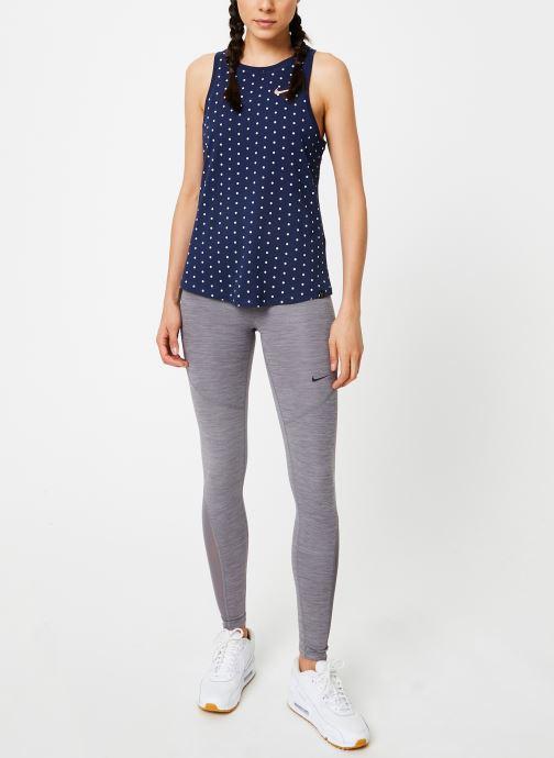 Vêtements Nike Collant de training femme Nike Pro Gris vue bas / vue portée sac