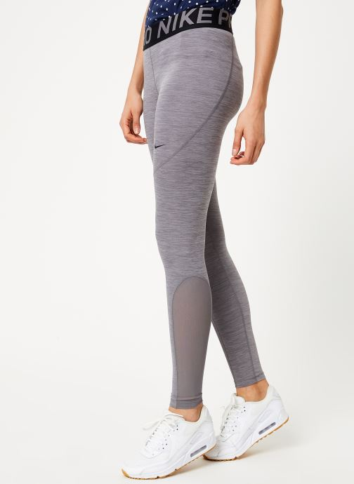 Vêtements Nike Collant de training femme Nike Pro Gris vue détail/paire