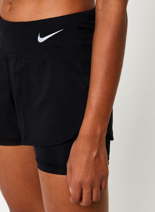Vêtements Nike Short de Running Femme Nike Eclipse 2 en 1 Noir vue face