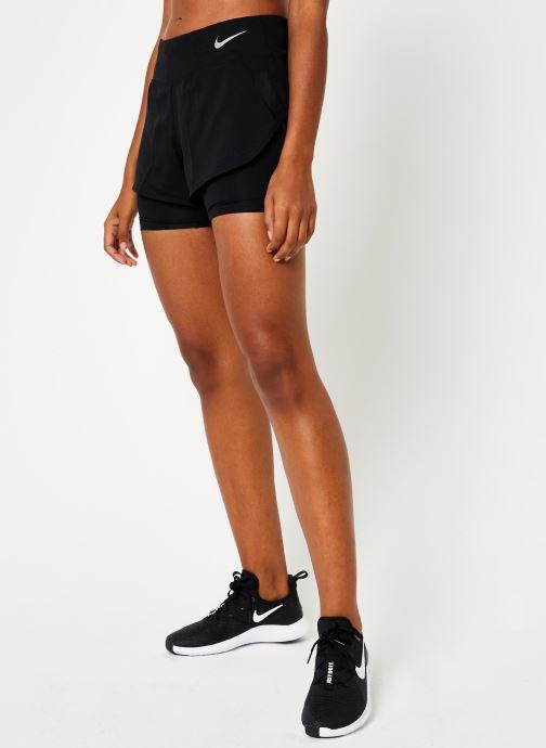 Vêtements Nike Short de Running Femme Nike Eclipse 2 en 1 Noir vue détail/paire