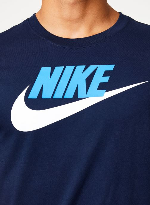 Kleding Nike Tee-Shirt Homme Nike Sportswear Futura Blauw voorkant
